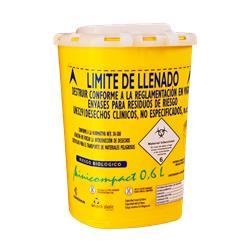 CONTENEDOR RESIDUOS MINICOMPACT 0,6 L