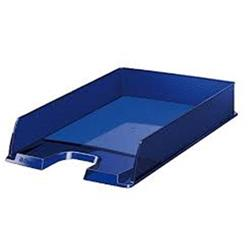 ESSELTE BANDEJA EUROPOST APILABLE DIMENSIONES 342 X 250 X 65 MM.COLOR AZUL OPACO 623606