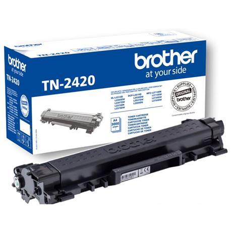 BROTHER TONER. TINTA COLOR NEGRO. REF.TN-3380